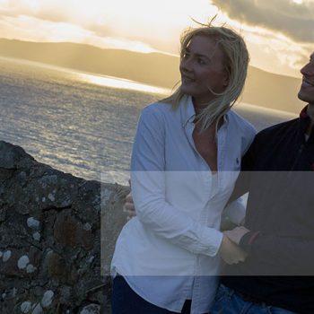 Mel Hudson Family Photography Belfast, engagement shoot at sunset 2