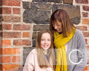 Mel Hudson Family Photographer Belfast, lifestyle portrait of Mummy & daughter