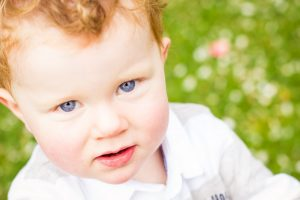 Mel Hudson Family Photographer Belfast, toddler with beautiful blue eyes
