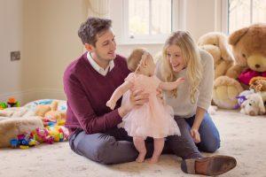 At home Family Photographer Mel Hudson Belfast