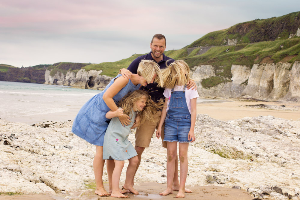 Mel Hudson Family Photographer Whitepark Bay, Portush, BELFAST Photographer Carrickfergus 3