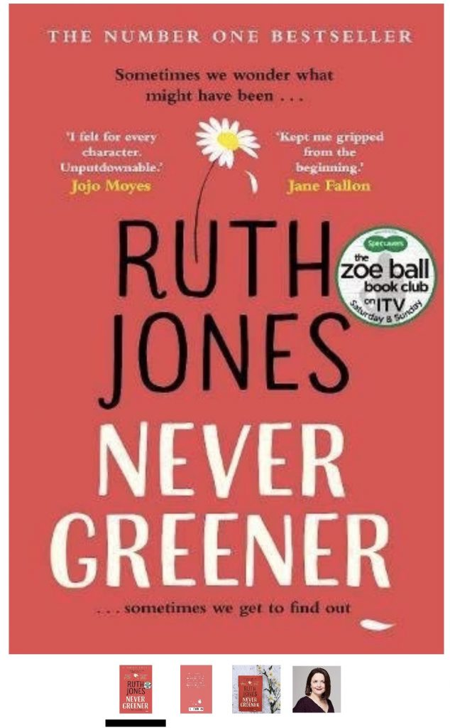 Ruth Jones NEVER GREENER THE BOOK CLUB Mel Hudson Photography Novembers choice 2018
