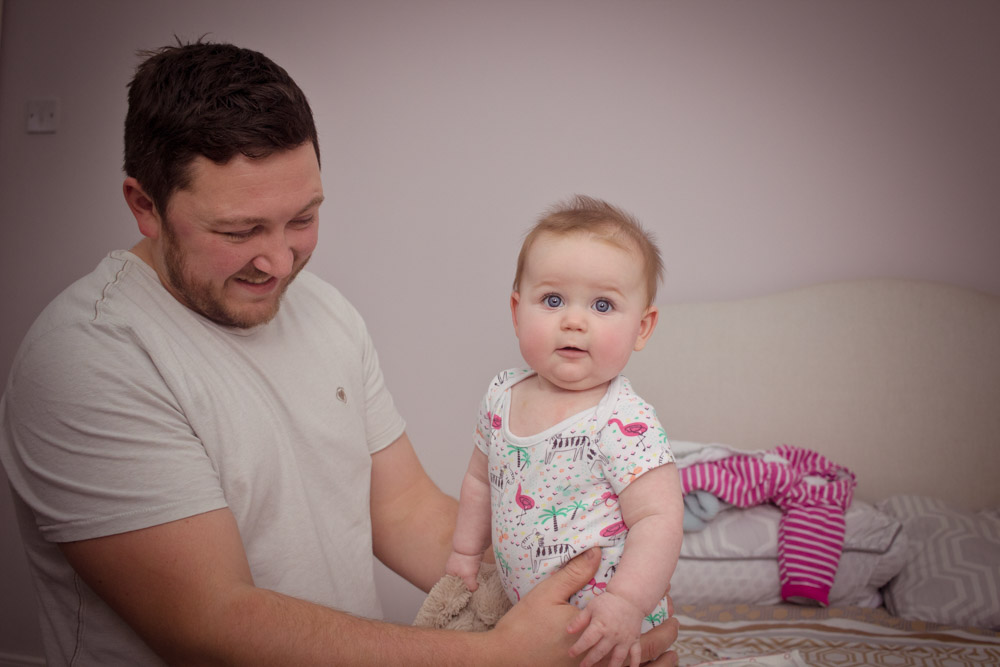 newborn photoshoot at home in Northern Ireland, family portrait photography belfast