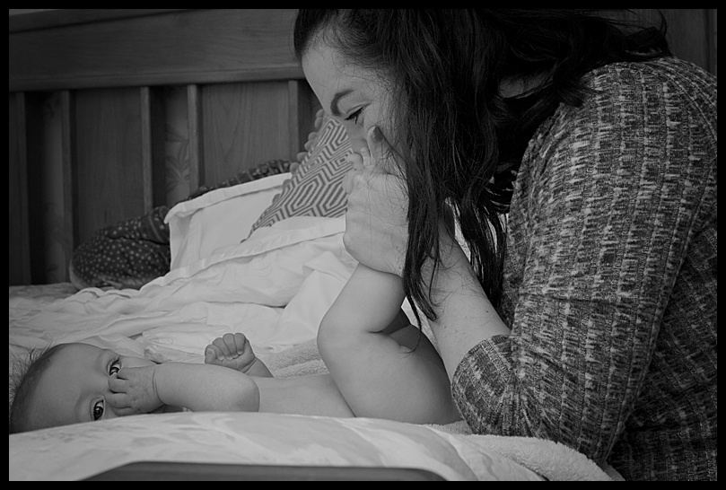 At home family photography Mel Hudson northern ireland photographer