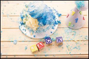 Belfast Family Photographer, Cake smash fun