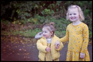 photoshoot with cousins Mel Hudson Family Photography Co Antrim