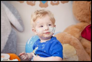 Little Boy 1st Birthday Cake Smash BELFAST