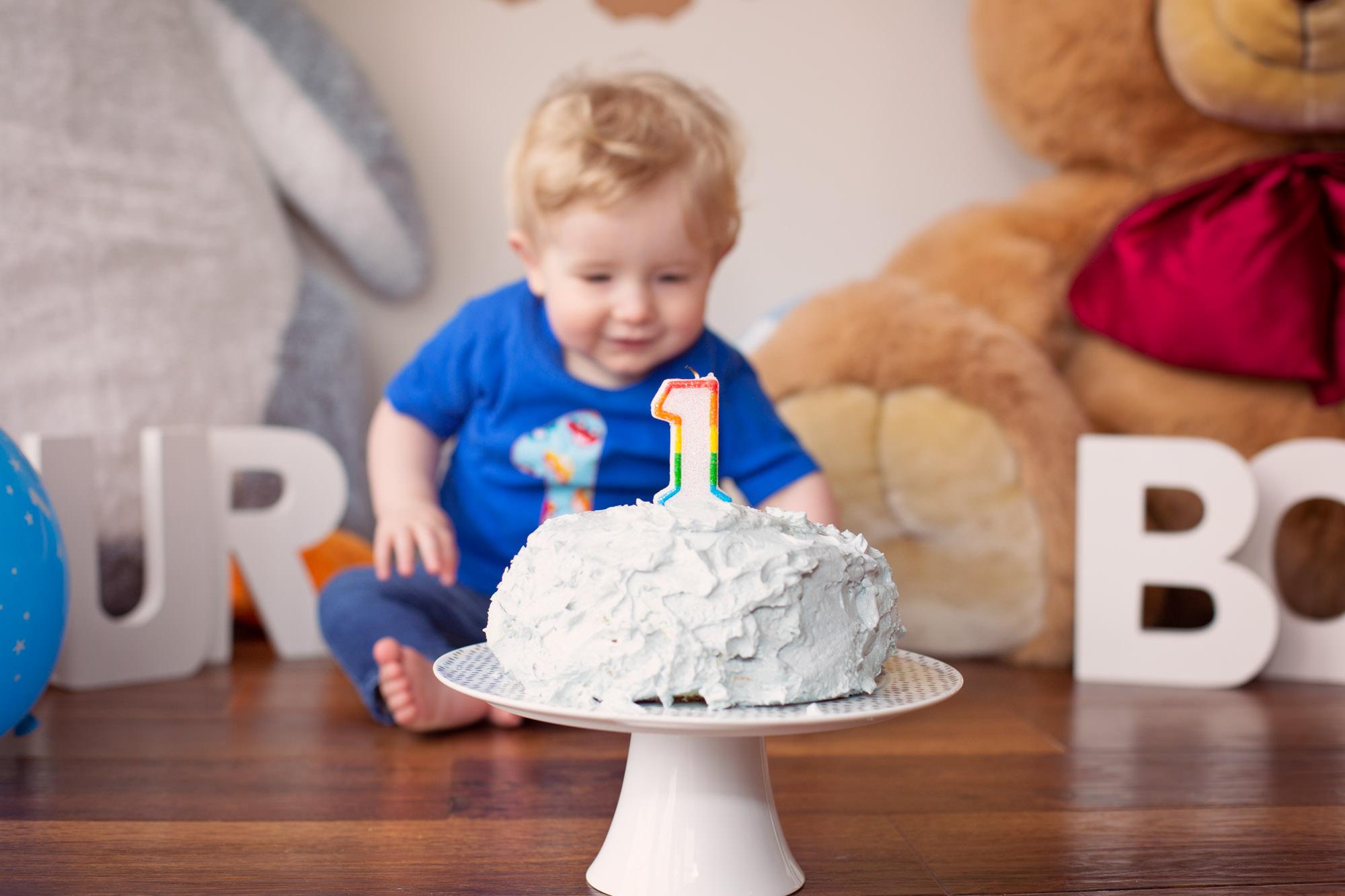 cake smash photographer BELFAST