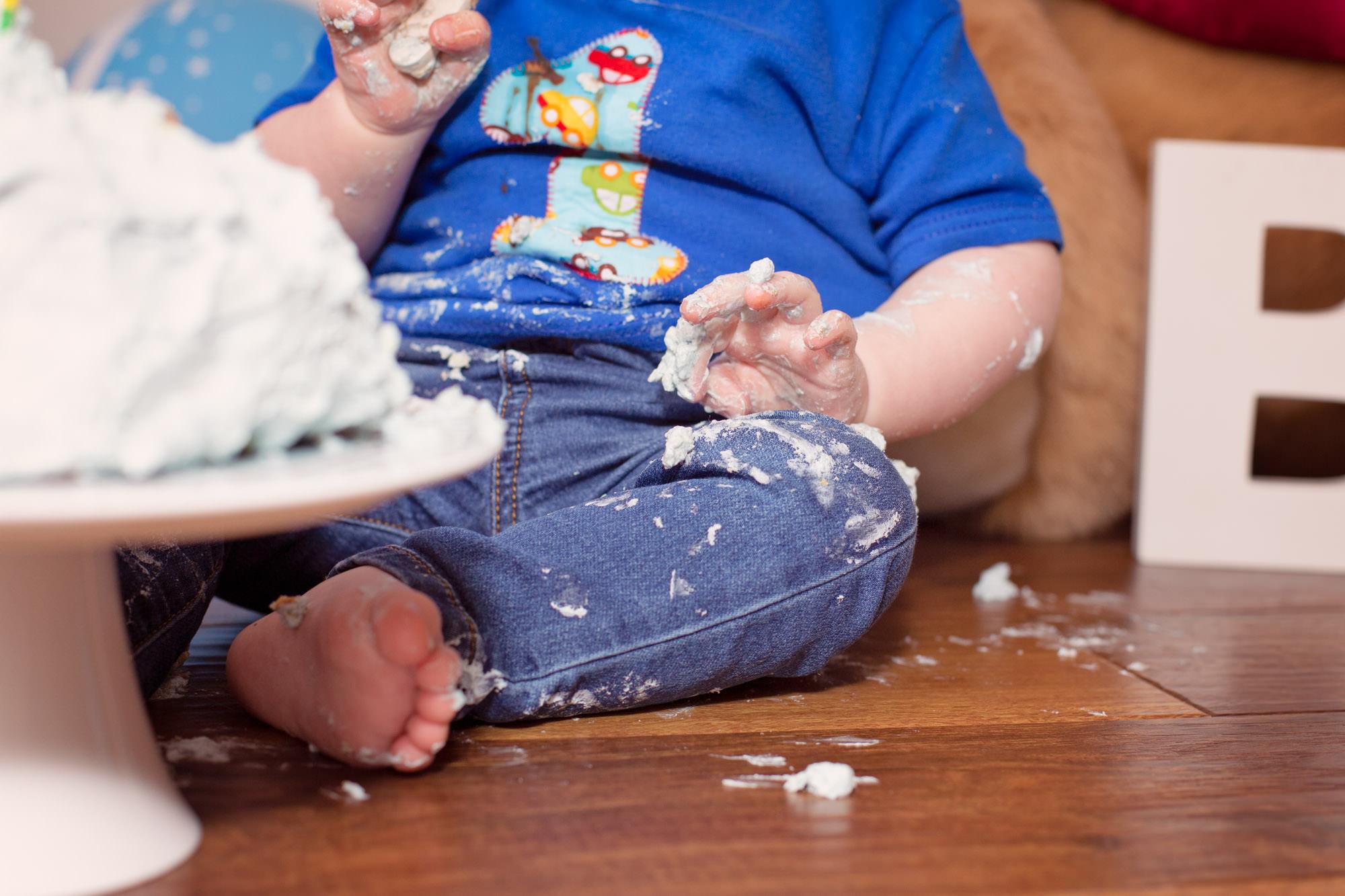 CAKE SMASH AT HOME BELFAST