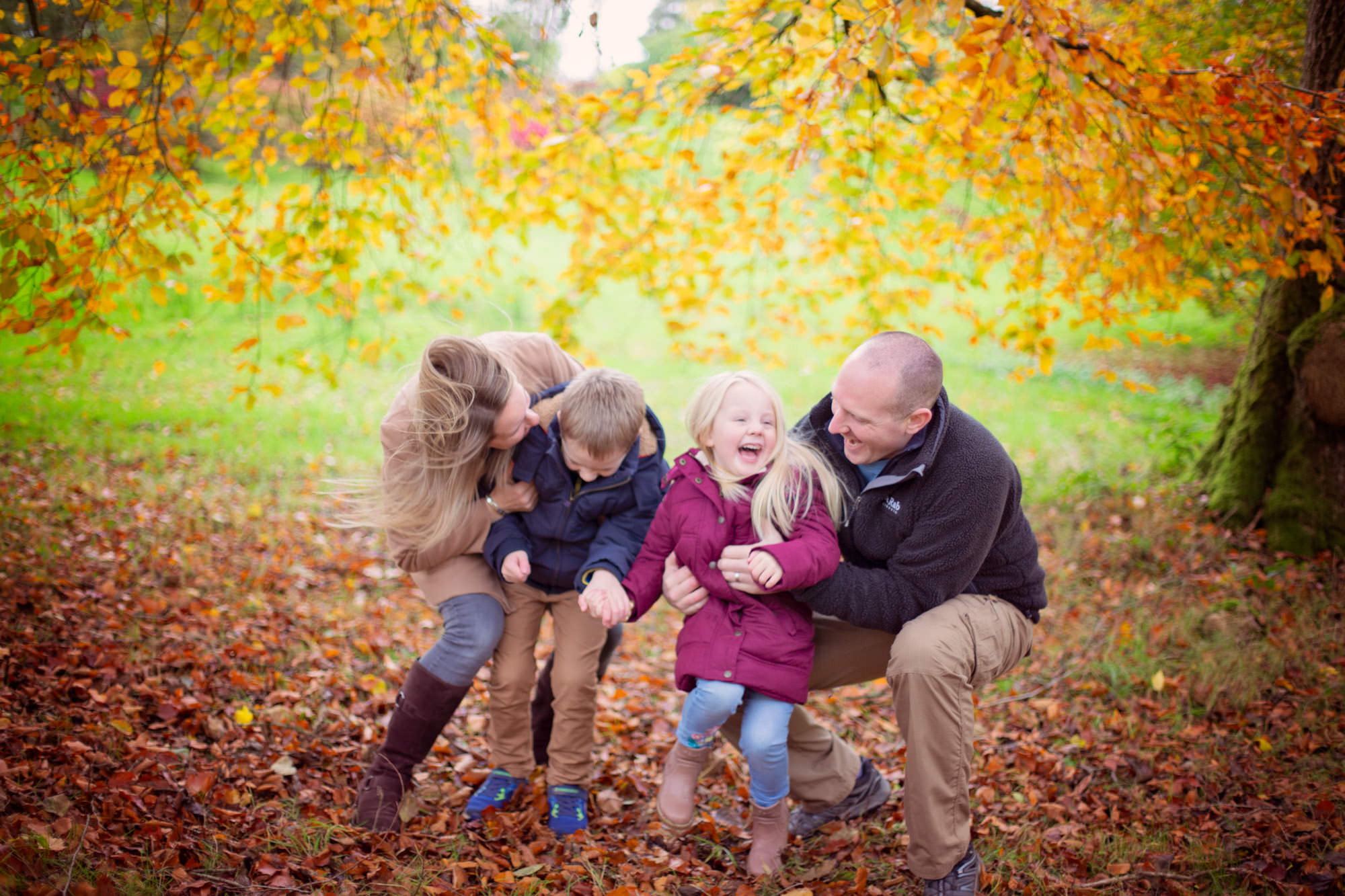 Outdoor professional family photos Co Down