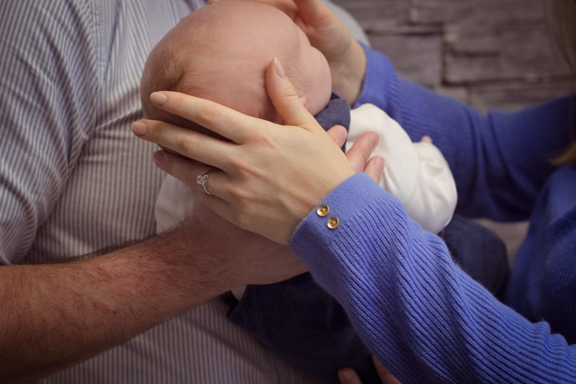 in home newborn photographer Northern Ireland