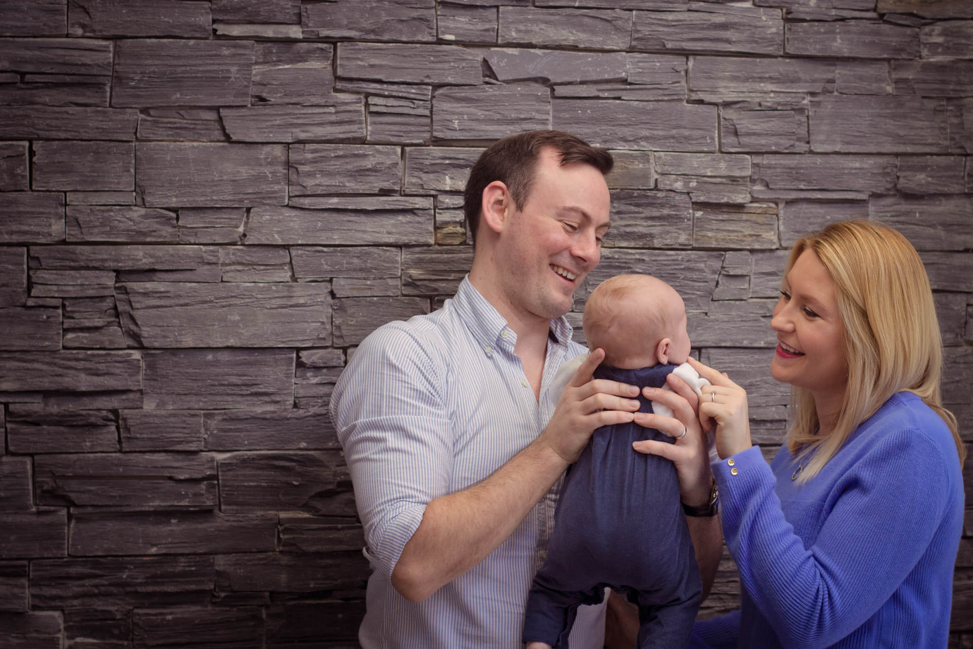 in home newborn lifestyle sessions Northern Ireland