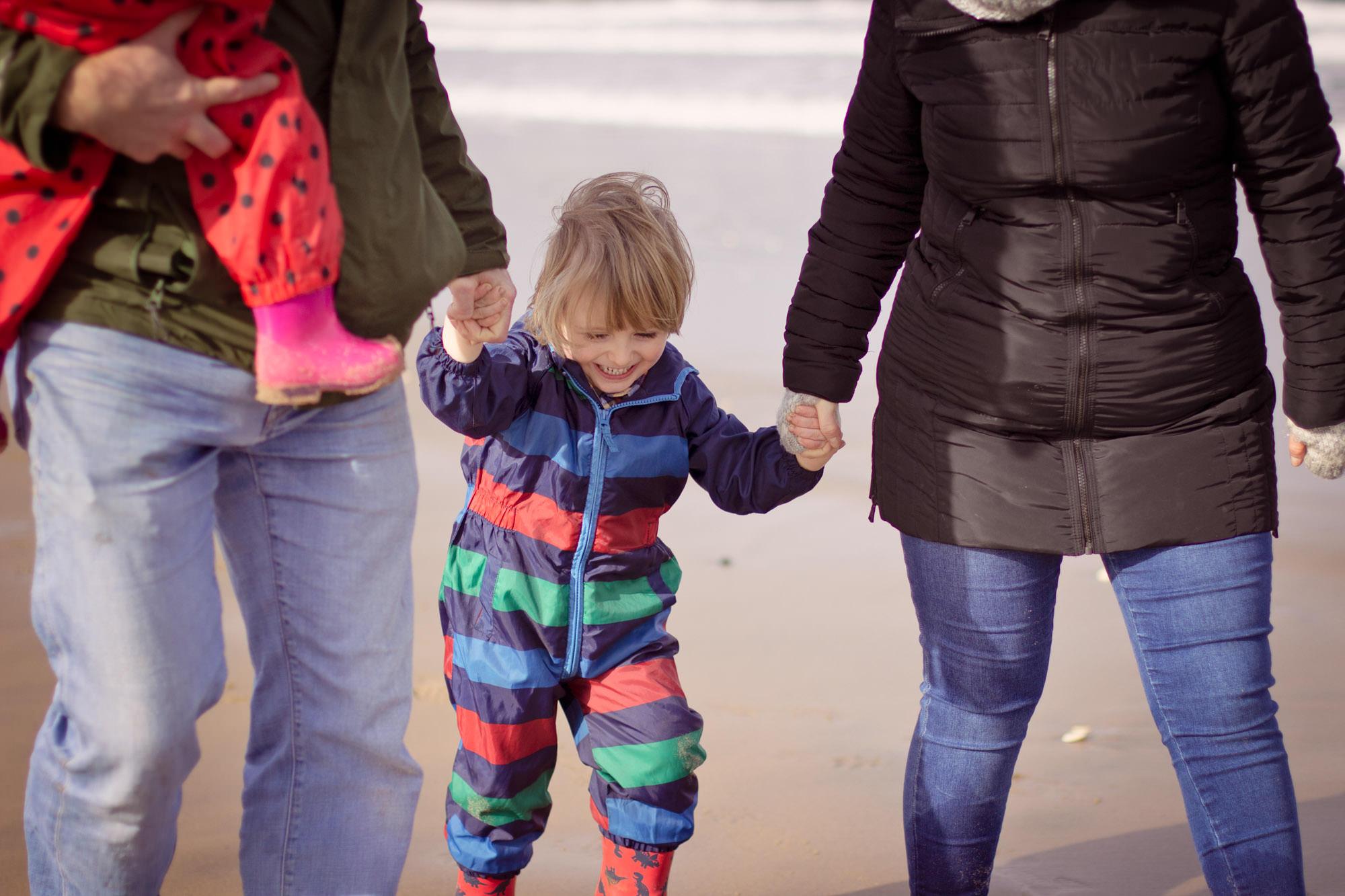 Whiterocks North Coast family photoshoot Northern Ireland