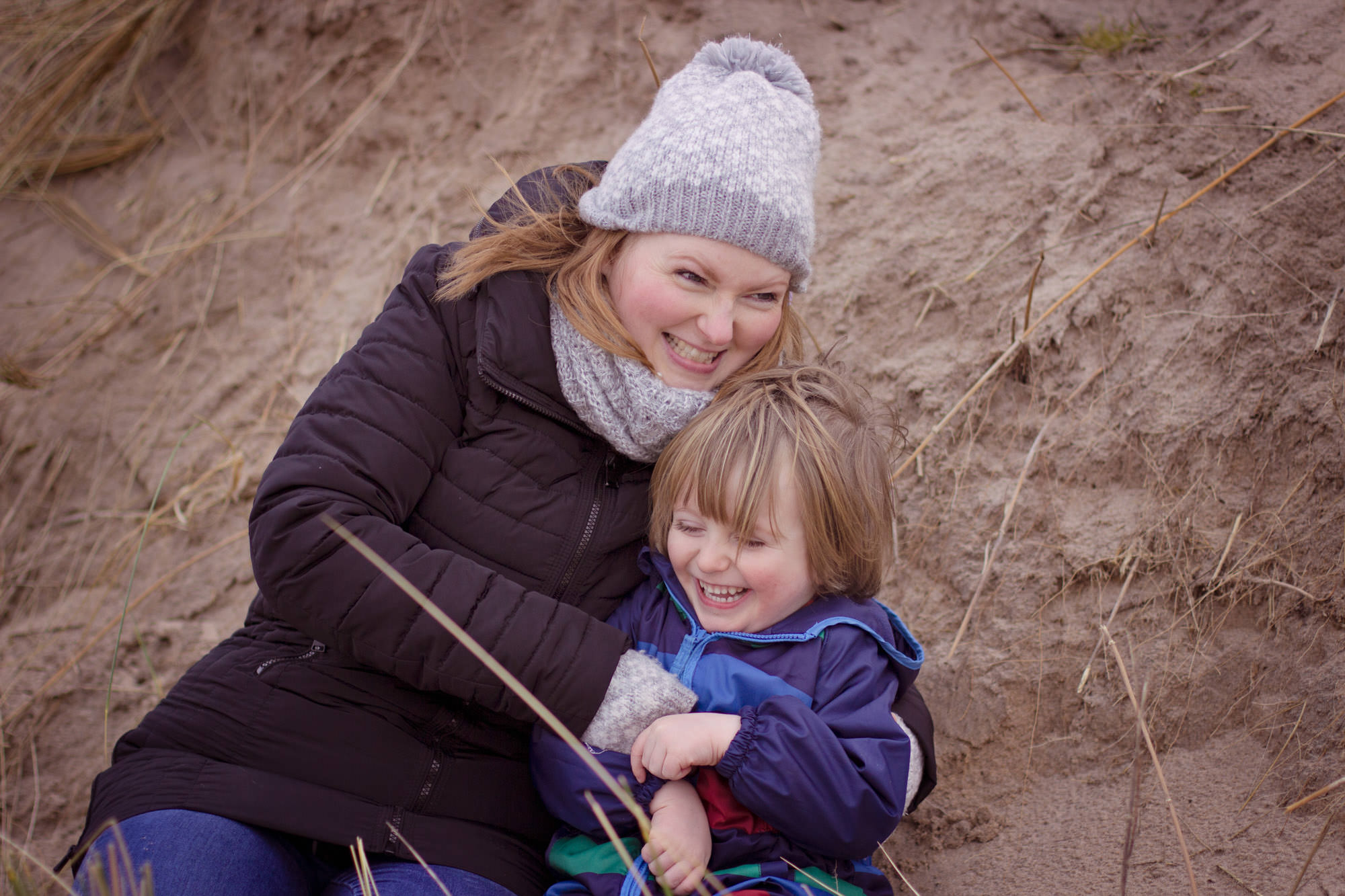 autumn and winter outdoor family photo shoots NORTH COAST northern ireland