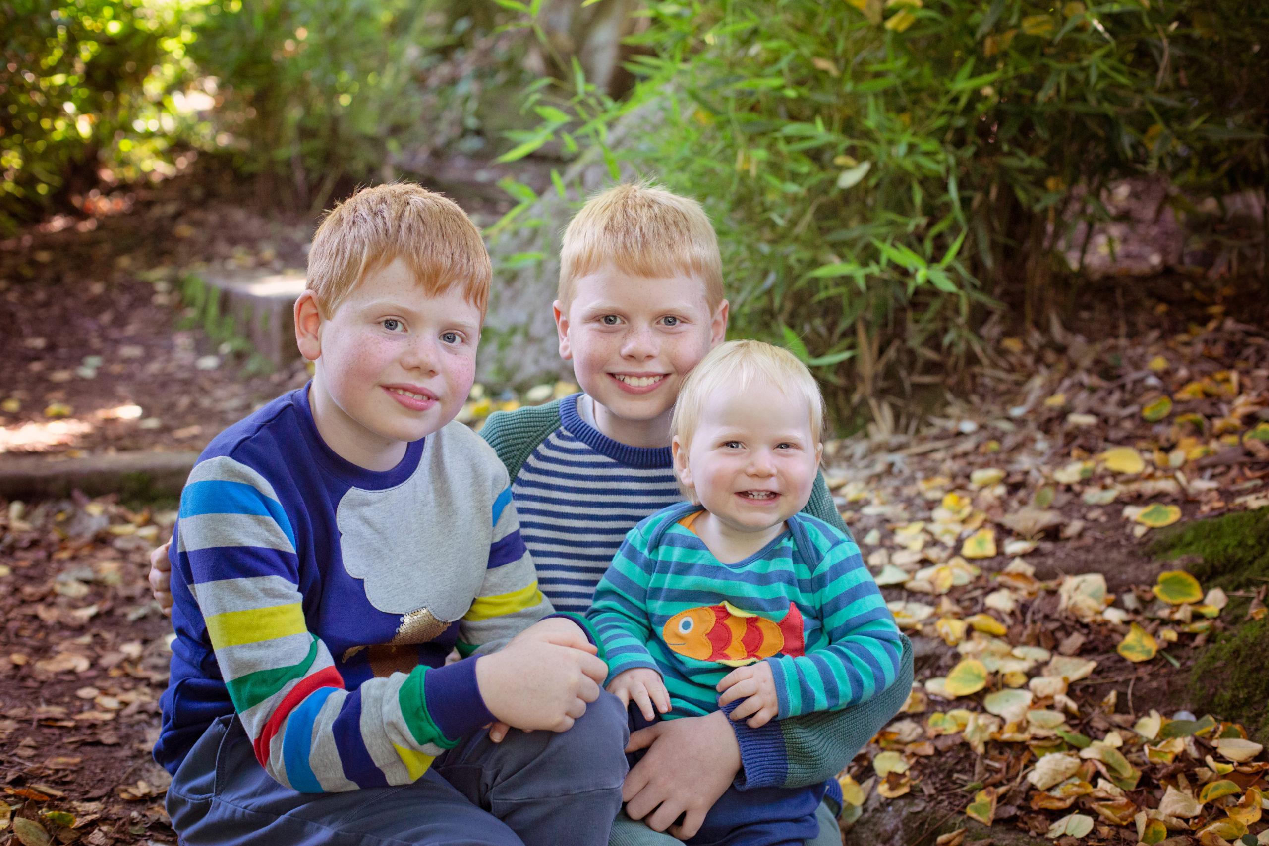 Autumn Colours family photoshoot Belfast