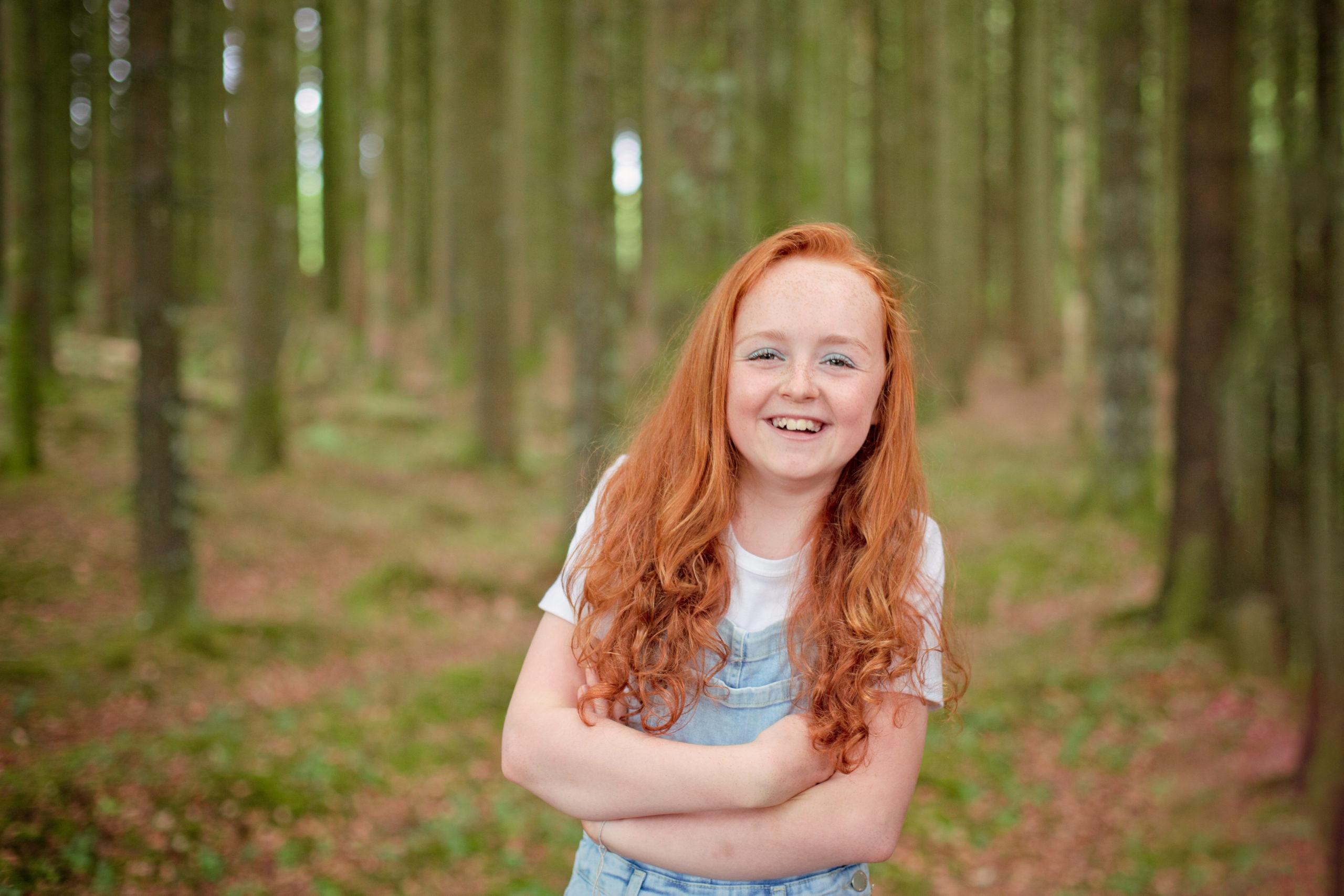 Children's portrait photographer Belfast